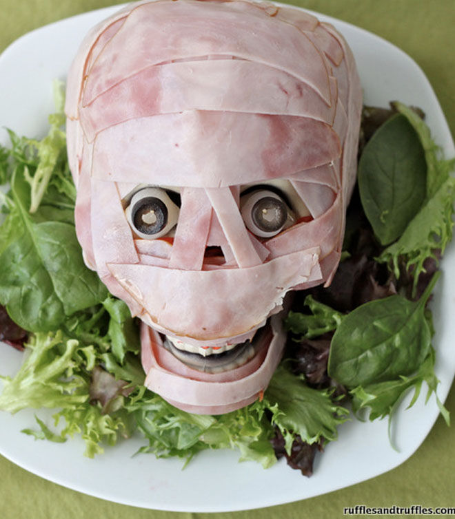 Spooky Halloween dinner ideas meat head