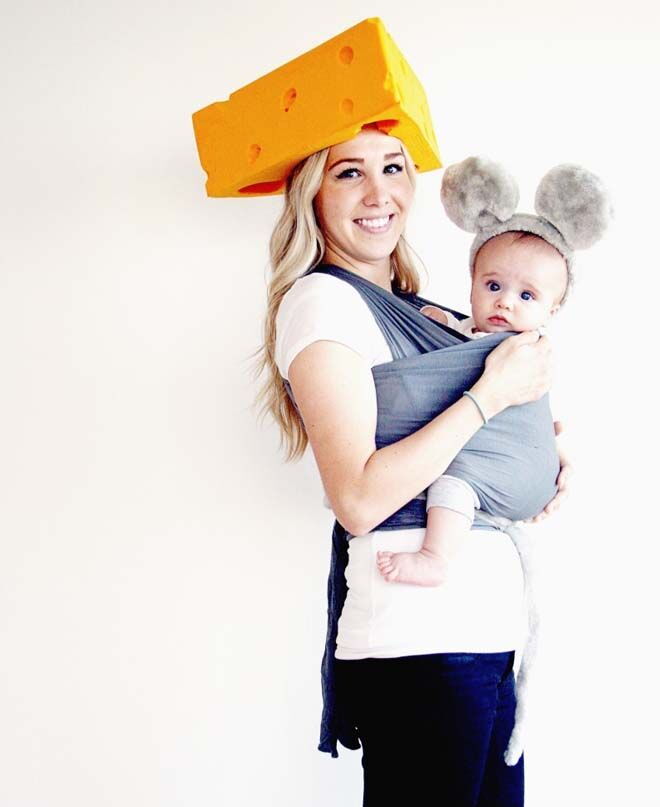 21 brilliant baby carrier Halloween costumes