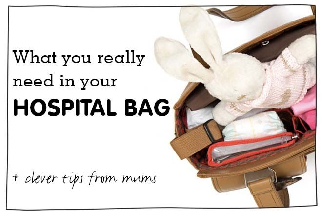 guide for what you need to pack in your hospital bag