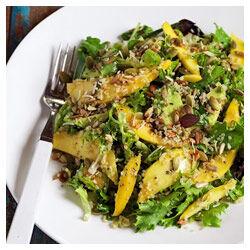 Mango Quinoa 5 Seed Salad