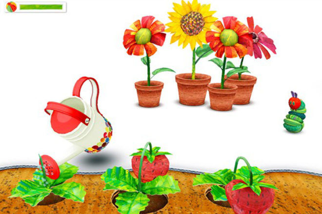 My Very Hungry Caterpillar app by StoryToys Entertainment