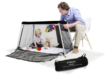 phil&teds traveller cot and playpen
