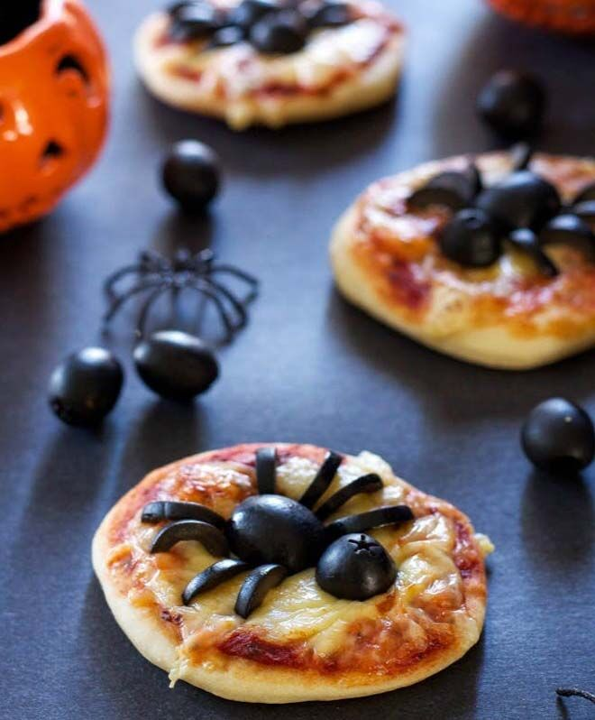 spooktacular Halloween lunch box snacks for creepy kids perilous pizza