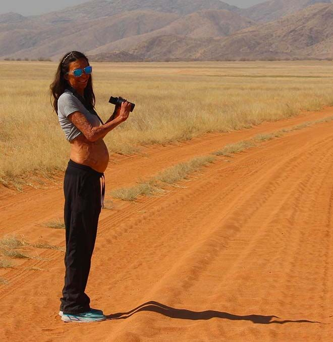 Turia Pitt shows her gorgeous baby bump