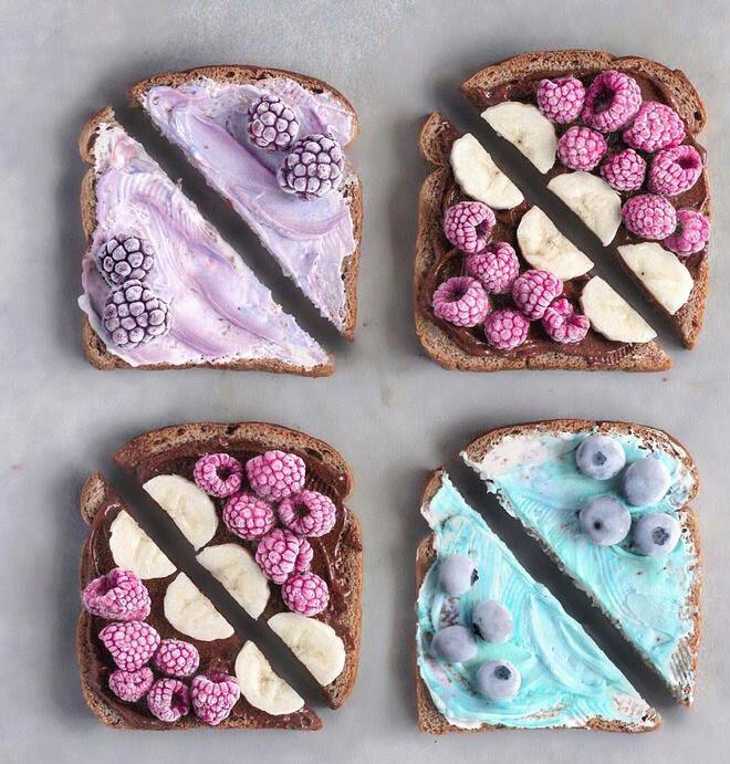 frozen berries unicorn food