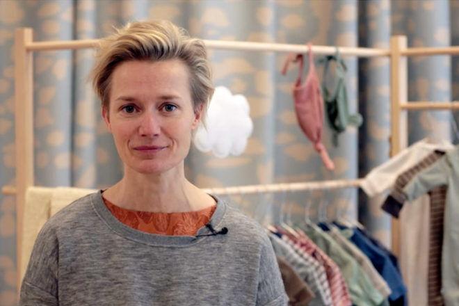Danish Vigga renting baby clothes