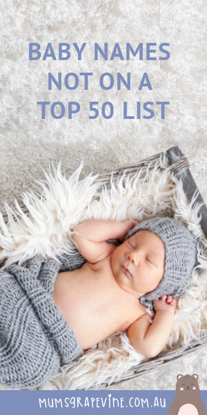 PIN Baby names you won't find on a top 50 list