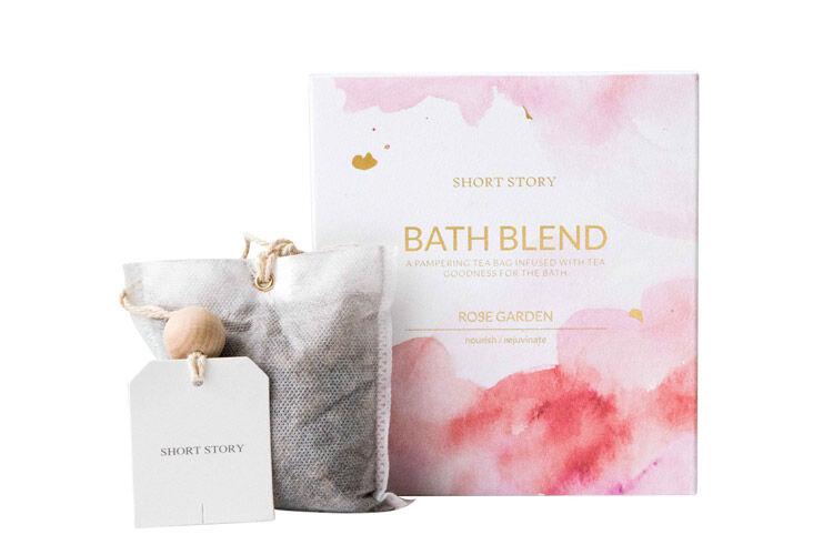 Short Story Rose Bath Blend Bags
