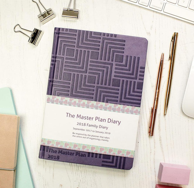 The Master Plan Diary 2018