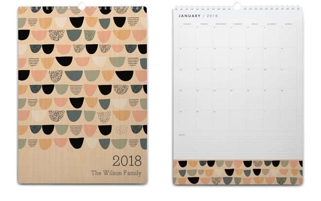 Tiny Me 2018 Family Planner