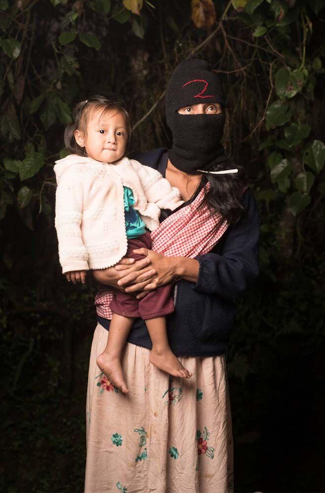 Zapatista breastfeeding Jade Beall Photography
