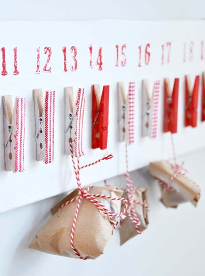 DIY Advent calendars craft make it yourself