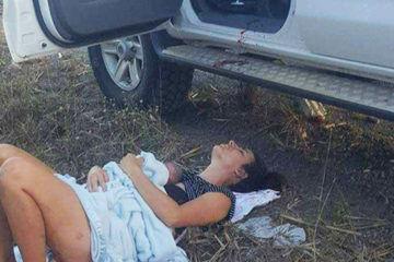 Queensland roadside birth