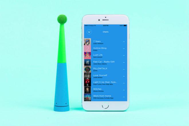 Benjamin Brush toothbrush app