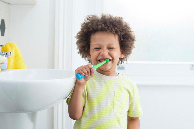 Benjamin Brush kids toothbrush