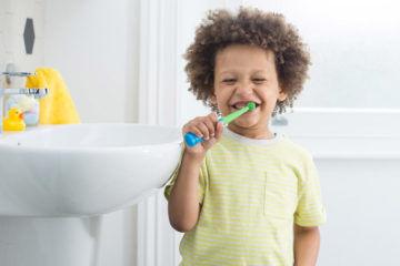 BleepBleeps Benjamin brush kids toothbrush