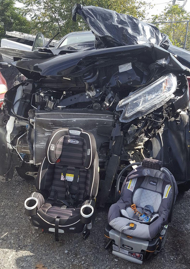 'THIS is why you buckle kids into car seats correctly every time'