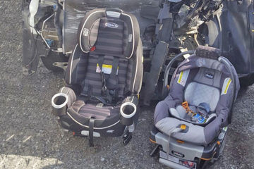 car seats after an accident
