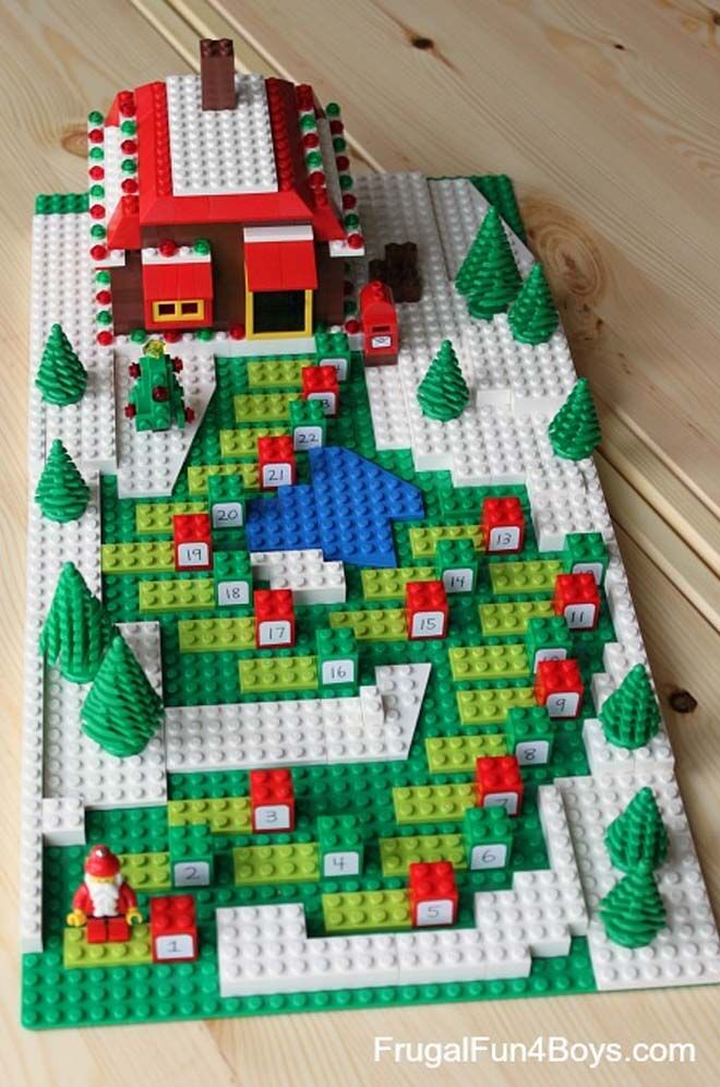DIY Advent calendars lego