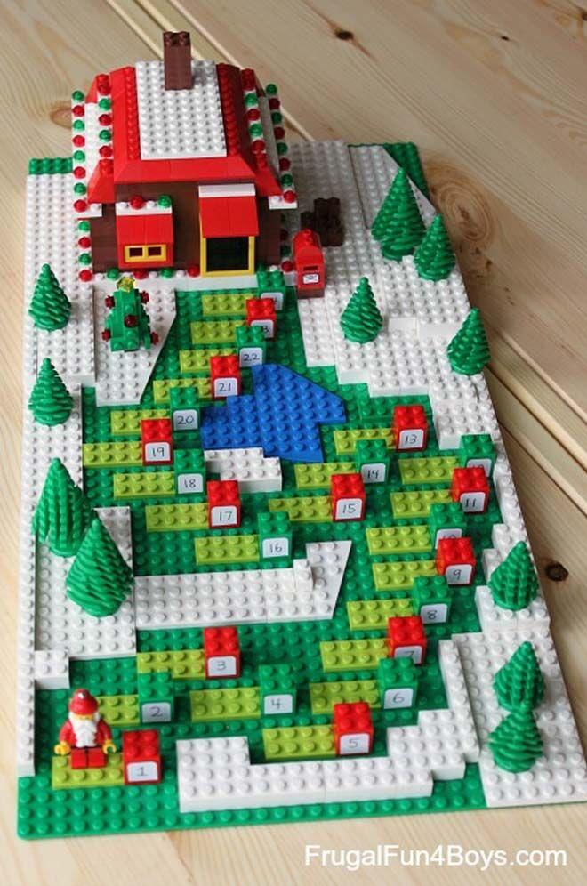 DIY Advent calendars lego