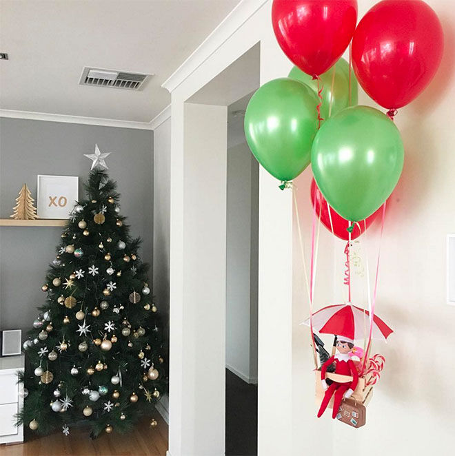 10 Elf On The Shelf Arrival Ideas Giveaway Mum S