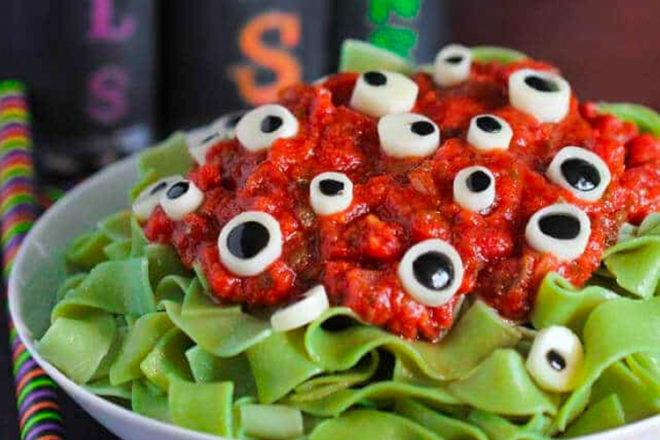 Spooky Halloween dinner ideas