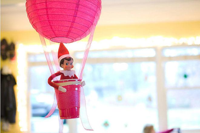 Hot Air Balloon elf on the shelf