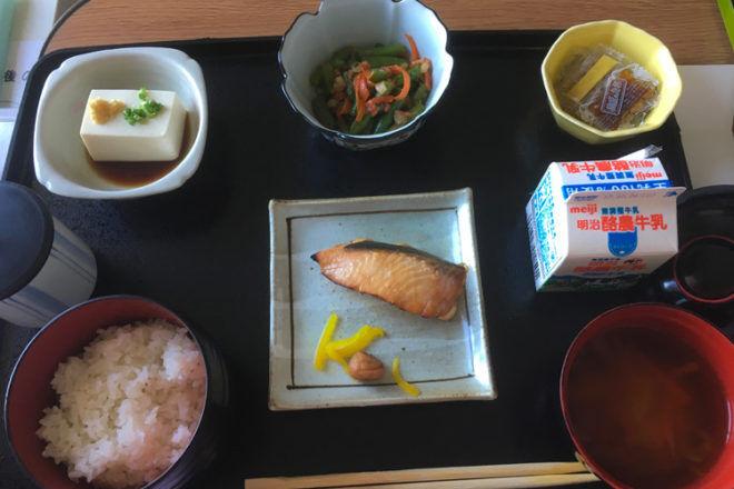 Japanese maternity ward food
