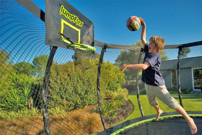 Win a Jumpflex trampoline competition