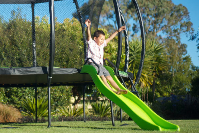 Win a Jumpflex trampoline competition