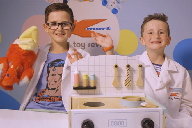 Kmart toy testers