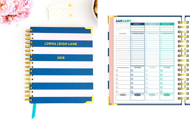 Lorna Leigh Lane family planner