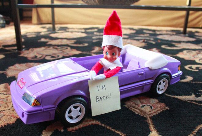 10 Elf On The Shelf Arrival Ideas Mum S Grapevine