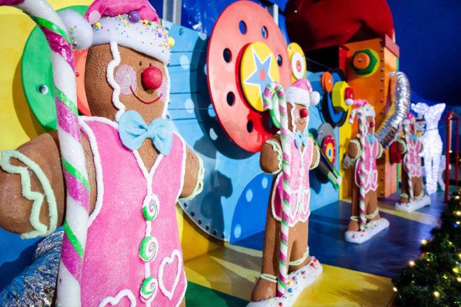 Santa's Magical Kingdom gingerbread