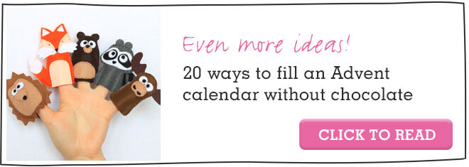 Advent Calendar Ideas Without Chocolate : More chocolate free ways to fill an advent calendar