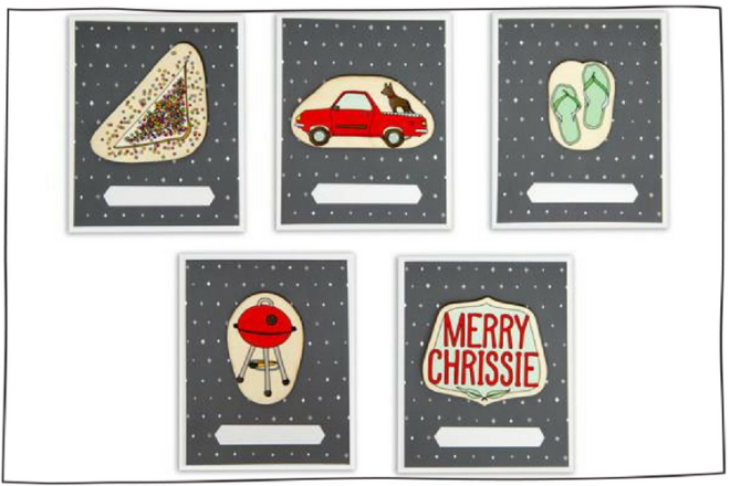 Aussie christmas cards