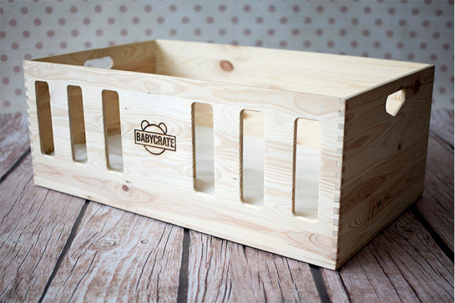 BabyCrate the bassinet substitute