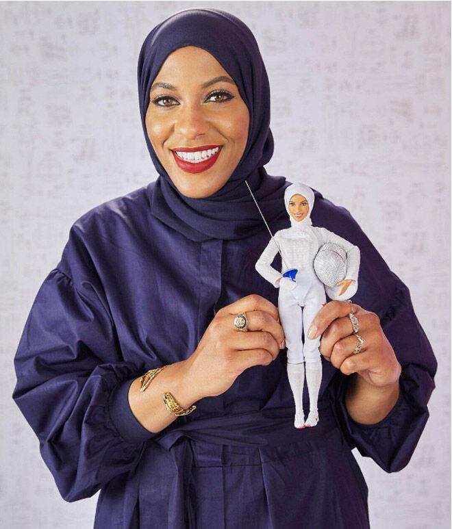 First Barbie Doll to Wear a Hijab, in Honor of Ibtihaj Muhammad