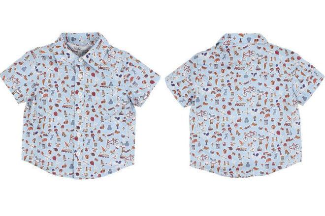 Liberty Bebe by Minihaha boys shirt