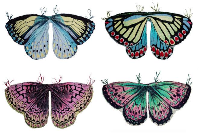 Paper Wings Butterfly wings