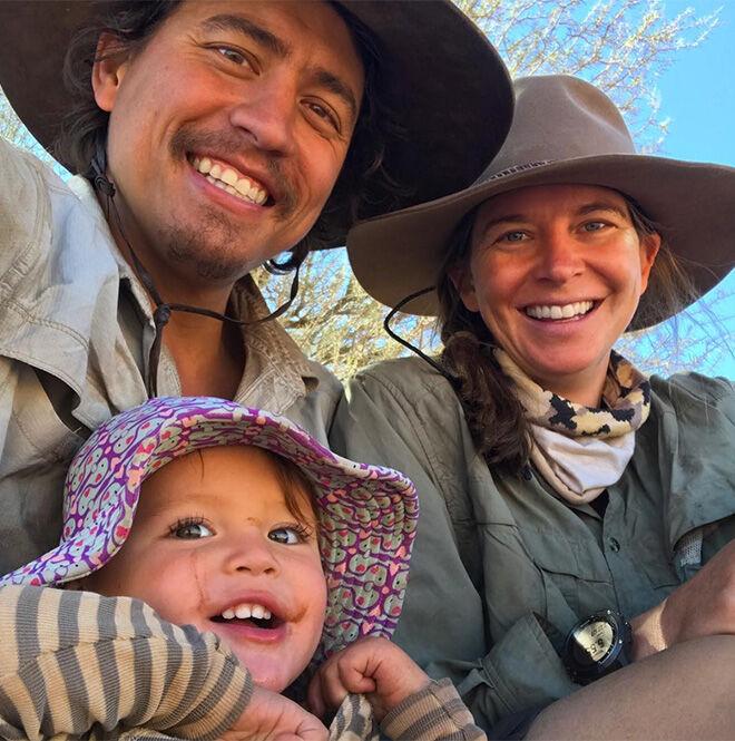 Family outback adventure in Australia