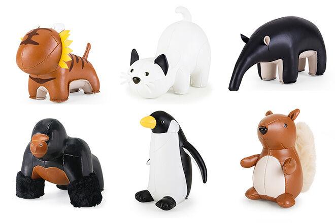 Cute Zuny animal nursery accessories