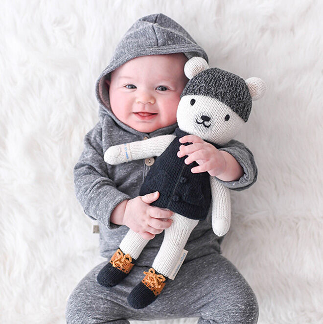 cuddle + kind baby bear dolls