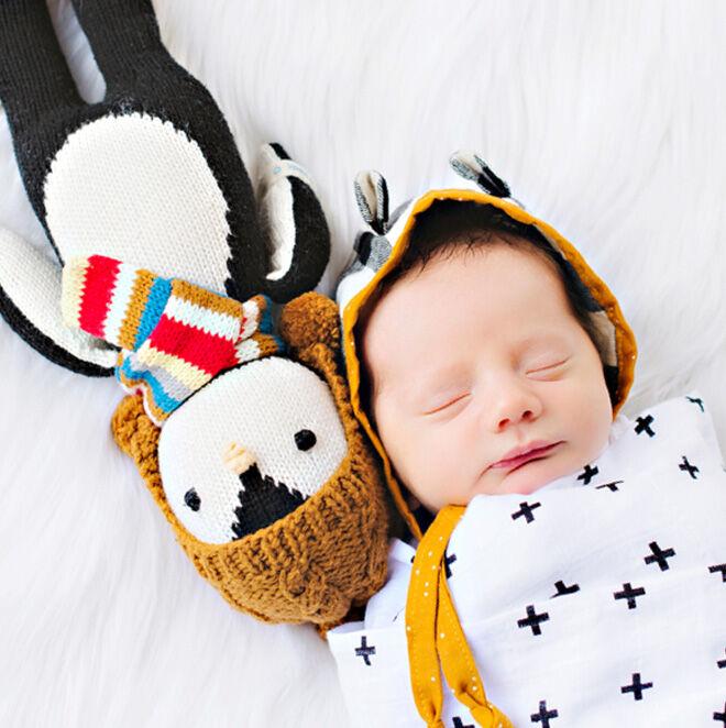 cuddle + kind soft penguin doll