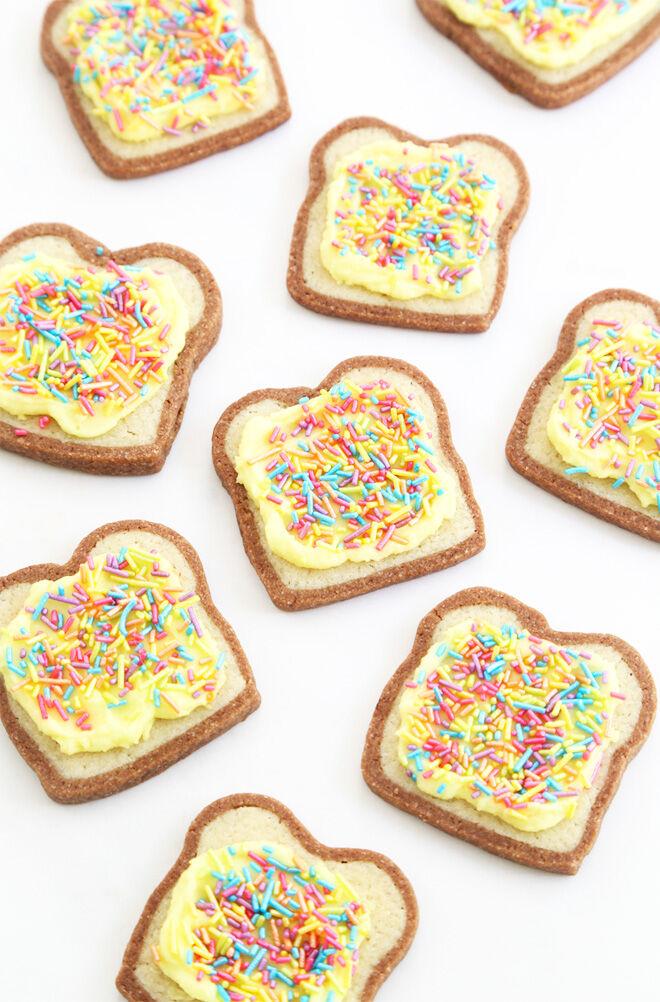 Fairy bread cookies recipe