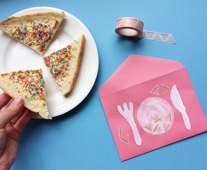 Fairy bread washi tape from Make Me Iconic