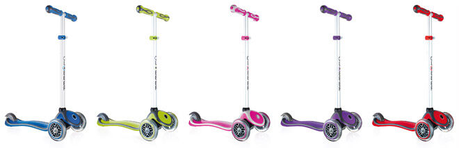 Globber Primo Plus Scooter Colours