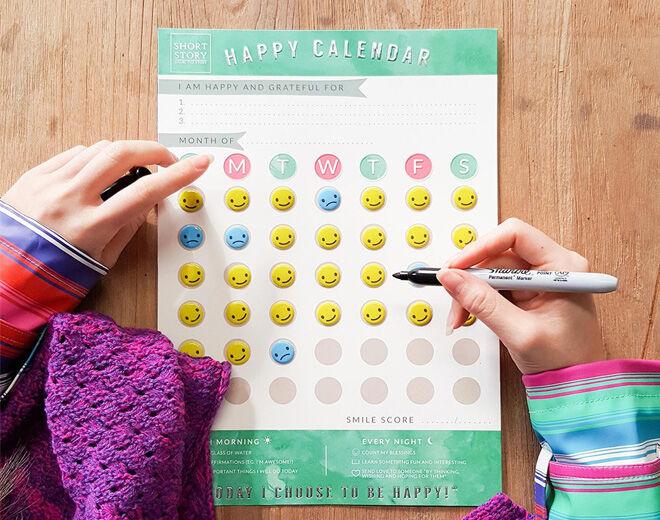 Happy Calendar Short Story teacher Christmas gifts