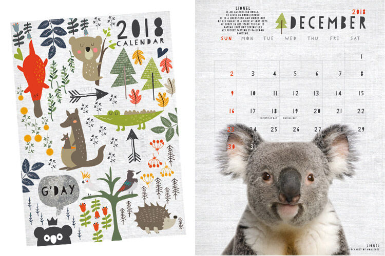 Merchants of Nonsense Aussie Calendar