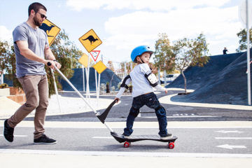 Safe kids skateboard for little kids